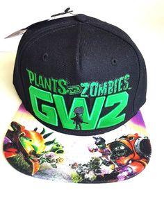 a873f841308 Plants vs. Zombies Garden Warfare 2 Snapback Hat Baseball Cap SALE - RARE  Hat