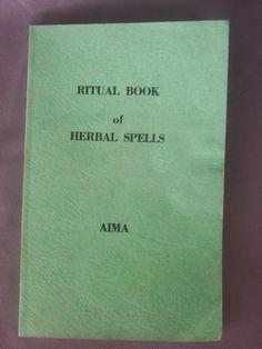 ritual book of herbal spells