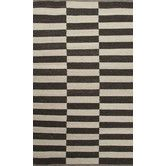 Found it at AllModern - Scandinavia Nordic Ivory & Black Area Rug