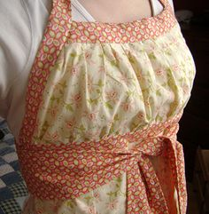 Apron Pattern (found here: http://sewliberated.com/products/emmeline-apron-sewing-pattern)