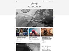 Jenny - Tumblr Theme (   W  I   P   ) by Marcin Czaja #tumblr #theme #layout #portfolio #inspire #gallery #grid