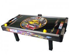 Nascar Air Hockey Table Man Cave Games, Air Hockey, Pinball, Poker Table, American Made, Nascar, Game Room, Entertaining, Sports