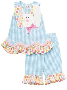 Rare Editions Easter Bunny Outfit www.kidsbdazzled.com