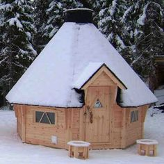 Cute cabin in Sweden.