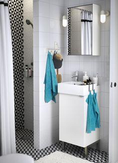 La solución para tu baño pequeño hecha espejo.