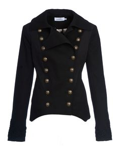 """""""Trooper"""" Jacket (double breasted, fitted  Kat Von D Los Angeles, White Label"""