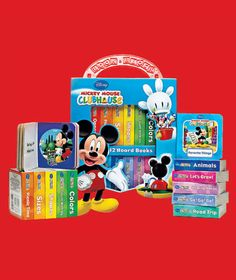 Sets of 12 Books in a Carry Case  $8.95per set. Mickey Mouse