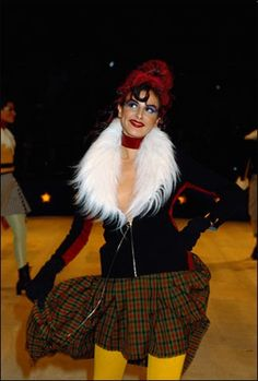 1991-92 - Jean Paul Gaultier show 'French Cancan'