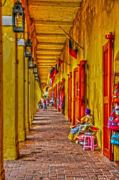 Las Bóvedas, Old City of Cartagena, Colombia Ecuador, Costa Rica, Travel Around The World, Around The Worlds, Places To Travel, Places To Visit, Colombian Art, Colombia South America, Colombia Travel