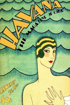 "567 Cuban Quality Design Travel Poster""Havana Magazine""Sexy Swimmer   eBay"