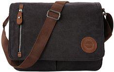 Fällt klein aus aber gefällt  Koffer, Rucksäcke & Taschen, Messenger-Bags Mens Satchel, Laptop Shoulder Bag, Canvas Messenger Bag, Vintage Canvas, Baggage, Mens Fashion, Bags, Women, Laptop Tote