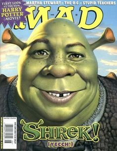 Shrek- mad magazine