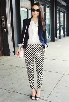 Would wear this to work everyday! so classy and so fun! The  College Prepster