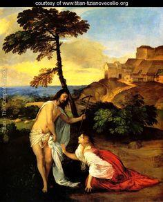 Noli me Tangere (Do Not Touch Me) - Tiziano Vecellio (Titian)…