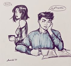 Anonymous said: Do you think Damian and Raven use pet names for each other? Like Damian calling Raven 'beloved'? Love your art! Answer: Hello and thanks!!!  And to answer your question…hmmm I never...