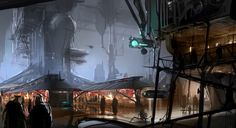 star wars art | Star Wars 1313 Concept Art 11 - Game Rant