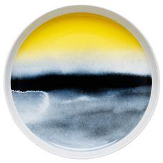 Weather Diary (Sääpäiväkirja) salad platter by Marimekko.