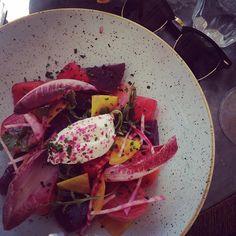 Dinner-Inspiration: Rote Beete Wassermelone & Schafskäse  #dinner #food #salad #summerfood #dinnerinspiration #yummy #healthy