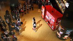 Coke does 3D Social Marketing Right! Guerrilla Marketing - Coca-Cola Dancing Vending Machine