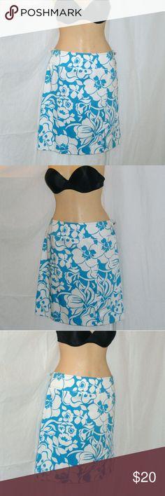 fbf8314fc31 Ann Taylor Floral Mini Skirt Size 8 NWOT