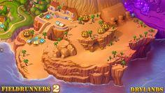fieldrunners 2 map [drylands]