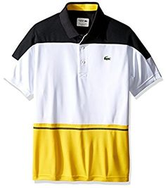 86154d276 Lacoste Men s Tennis Short Sleeve Color Block Ultradry T-Shirt. Tennis  ShortsSleeveColorLacoste MenValentines Day Gifts For ...