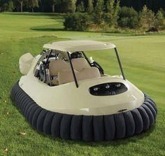 $58,000 for A Golf Cart Hovercraft