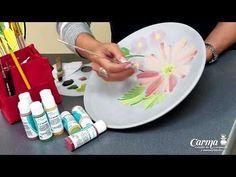 (59) PLATOS DECORADOS - CERÁMICA - PINCELADAS - YouTube Cerámica Ideas, Ideas Para, Dot Art Painting, Diy Tutorial, Flower Art, Dots, Pottery, Maurice, Plates