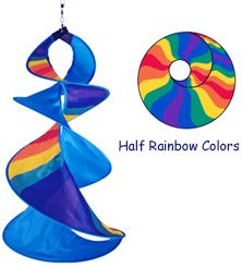 Rainbow Wow Spin Duet: Just For Fun Flags & Windsocks