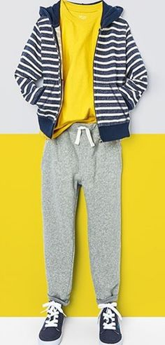 Casual. Comfy. Cool. | Boys' fashion | Activewear | Street style | Kids' fashion | The Children's Place
