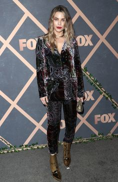 Actress Lauren German attends FOX Fall Party at Catch LA on September 25, 2017 in West Hollywood, California.