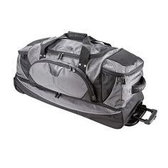 Dermata Rollenreisetasche mit Rucksackfunktion 3462NY grau