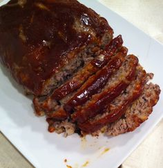 Brown Sugar Meatloaf. The best damn meatloaf ive made. My husband and my boys absolutely loved it!!!