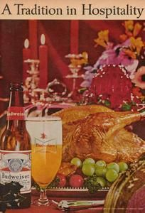 A Tradition in Hospitality, what more could you ask for. #Budweiser #Thanksgiving #ThrowbackThursday #BeerLovesYou