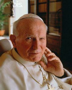 Pope John Paul II Papa Francisco, Pope John Paul Ii, Paul 2, Pope Of Rome, Anima Christi, Papa Juan Pablo Ii, Saint Esprit, Catholic Saints, Mother Mary