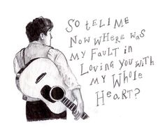 love this lyric, although i do love most of their lyrics :) Mumford & Sons <3