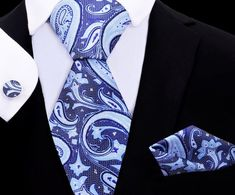 Suit Fashion, Mens Fashion, Novelty Ties, Twilight Series, Paisley Tie, Cool Ties, Tie Set, Sharp Dressed Man, Pocket Square