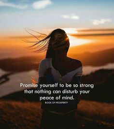 Inspirational Positive Quotes :Promise yourself to be so strong..