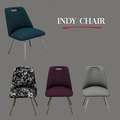 Leo Sims - Indy Chair for The Sims 4