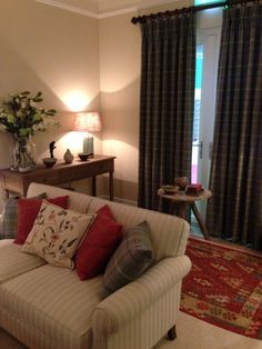Living room ideas on pinterest tartan wing chairs and wool