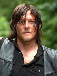 Daryl appears to be injured in the new pictures