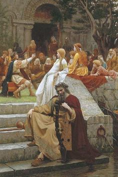 Faded Laurels by Edmund Blair Leighton