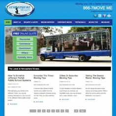 Website makeover to meet client's current needs. http://atmospheremovers.com A mover in Covington, LA that serves the greater New Orleans area.