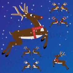 #reindeer #reindeers #santa #illustration #cliparts #clipart #vectorgraphics #vectorgraphic #vectorart #etsy #graphicdesigner #illustrator #illustrator #vector #designedann #designed #designe #christmas #xmas #christmastime #rudolf #rudolfrednosedreindeer Vector Graphics, Vector Art, Christmas Time, Xmas, Red Nosed Reindeer, Illustrator, Commercial, Santa, Clip Art