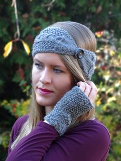 p/anleitung-knopf-stirnband-stricken delivers online tools that help you to stay in control of your personal information and protect your online privacy. Cable Knitting Patterns, Knitting Blogs, Free Knitting, Crochet Patterns, Knitted Headband, Knitted Hats, I Cord, Great Hobbies, Ear Warmers