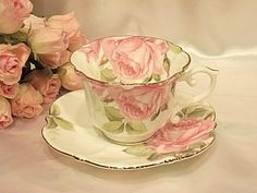 Royal Arden cup & saucer of the rose