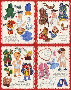Valentine Cutout Doll Books