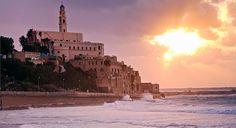 The ancient port of Jaffa, on the southern edge of Tel Aviv http://www.elledecor.com/culture/travel/tel-aviv-travel-guide#slide-1