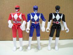 Mighty Morphin Power Rangers Figures