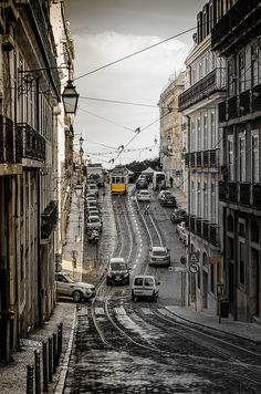 Lisboa, the echoes of your stone streets call my name endlessly... they call me home... home where my wandering will finally end... xo